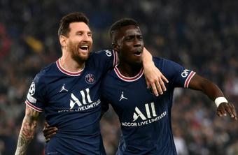 El gol de Messi ante el City, el mejor de la jornada en la Champions. AFP