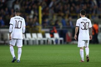 Neymar quiere volver a hacer historia al lado de Messi. AFP/Archivo
