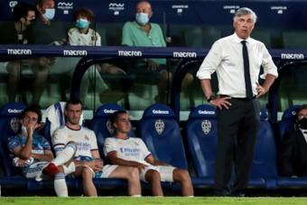 Carlo Ancelotti ha dejado claro con quién cuenta y con quién no. AFP/Archivo