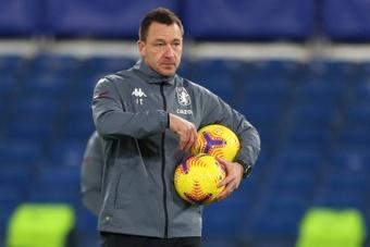 Terry poderia estrear-se como treinador no Championship.AFP