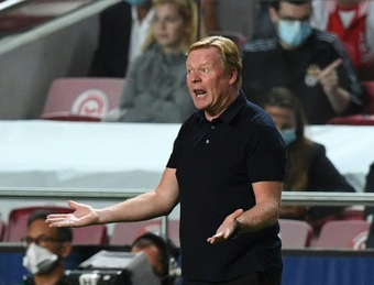 Barça players feel like Koeman shouldn't have publicly blamed Nico. AFP