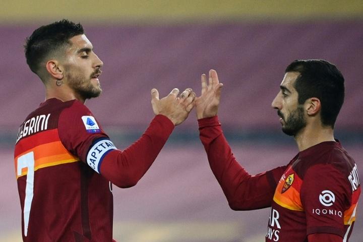 La Roma se régale contre Crotone. AFP