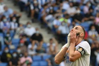 Espanyol vence e expõe as deficiências da zaga do Real Madrid. AFP