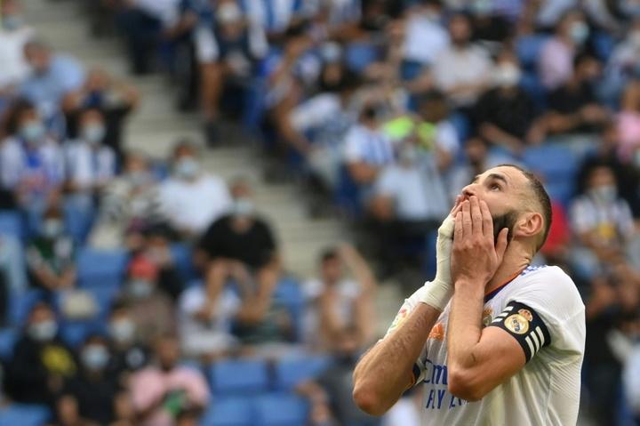 Il Real perde contro l'Espanyol. AFP