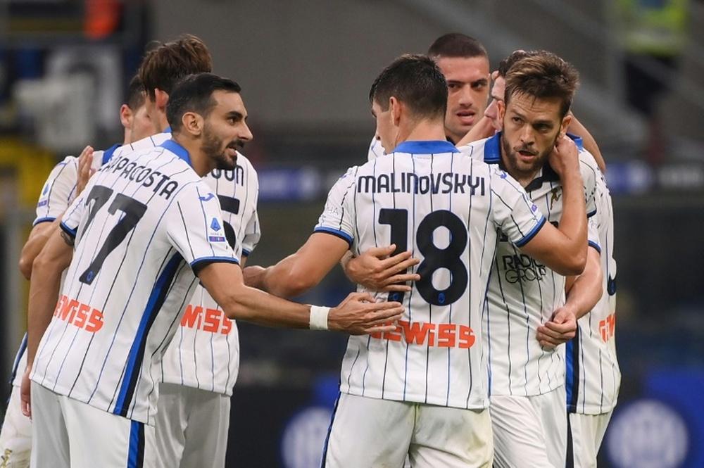 Ultim'ora del calcio italiano in data 12 ottobre 2021. AFP