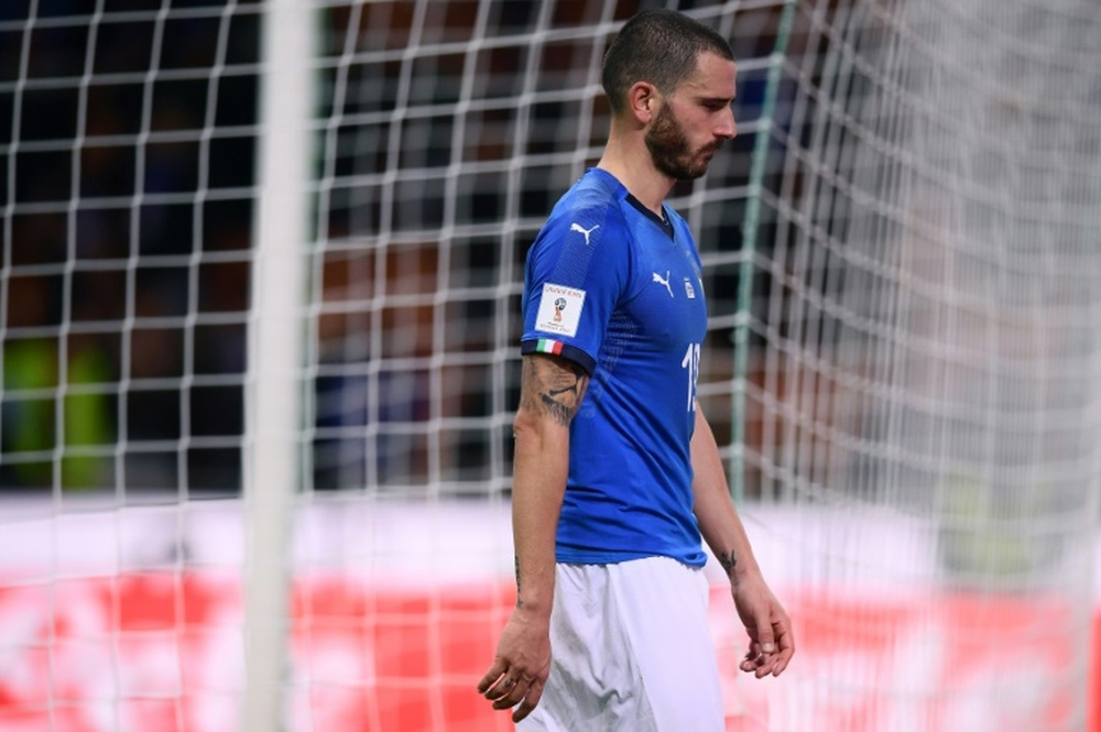Bonucci left Italy with 10 men. EFE