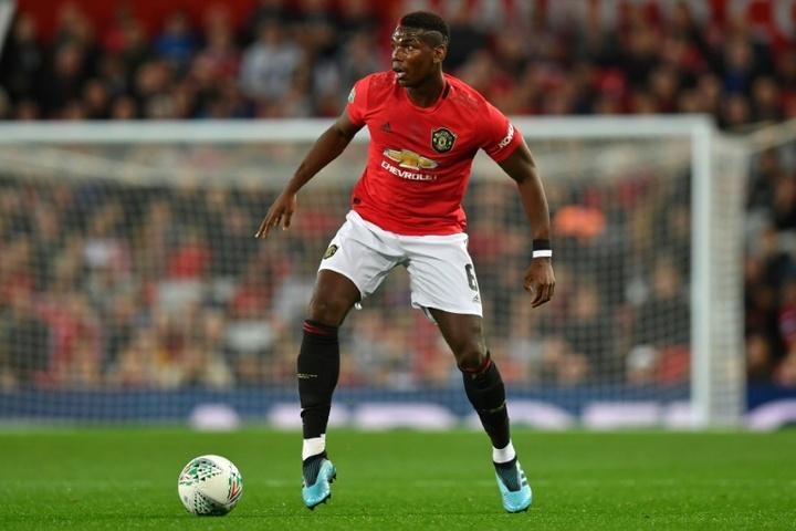 Pogba's contract runs until 2022. AFP