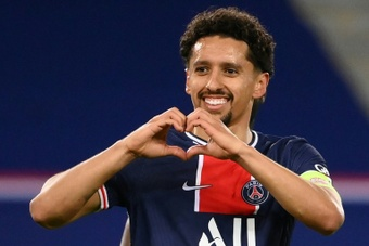 Marquinhos denies he did not want Ramos to join PSG. AFP