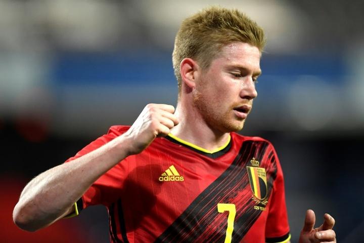 Martinez confirme les absences de Witsel et De Bruyne. AFP