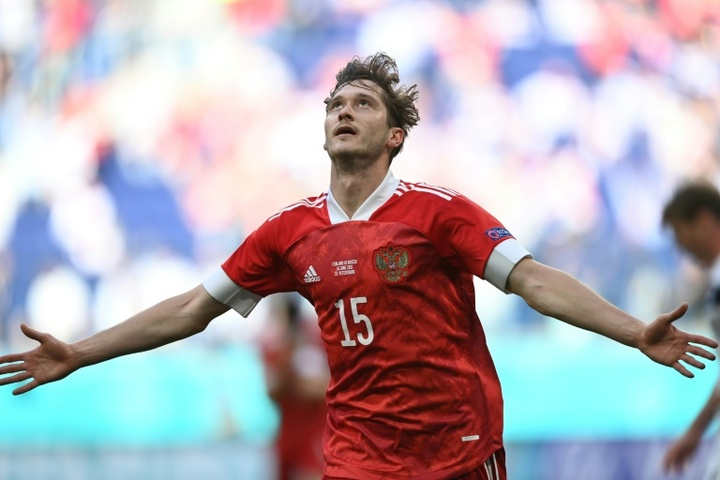 Rusia derrotó a Finlandia. AFP