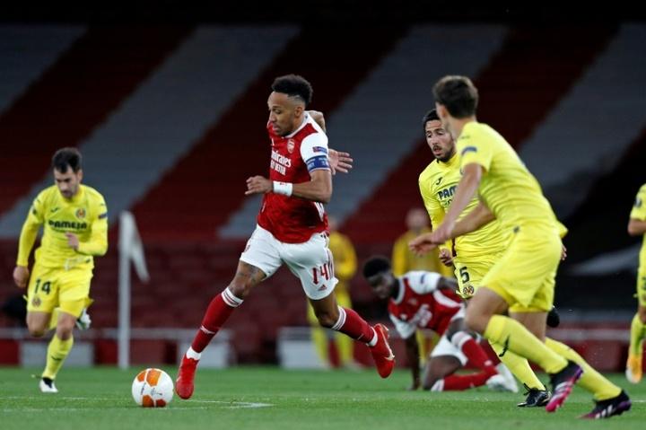 Aubameyang veut absolument rester à Arsenal. AFP