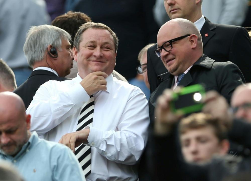 Newcastle ne cache pas son souhait de remporter la Premier League. afp