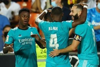 Vinicius Junior a analysé la rencontre de son équipe. AFP