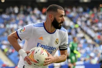 Benzema falou sobre as chances de ganhar a Bola de Ouro. AFP