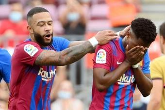 Le formazioni ufficiali di Barcellona-Valencia. AFP