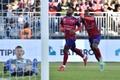 El heredero de Marcelo está en la revelación de la Ligue 1. AFP