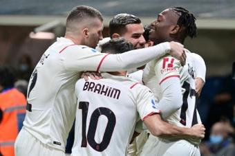 Le probabili formazioni di Milan-Hellas Verona. AFP
