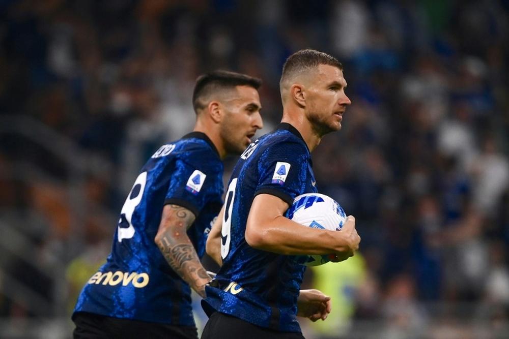 Le probabili formazioni di Lazio-Inter. AFP