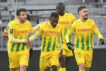 Chirivella salvó al Nantes. AFP