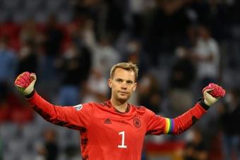 Neuer está de regresso.AFP