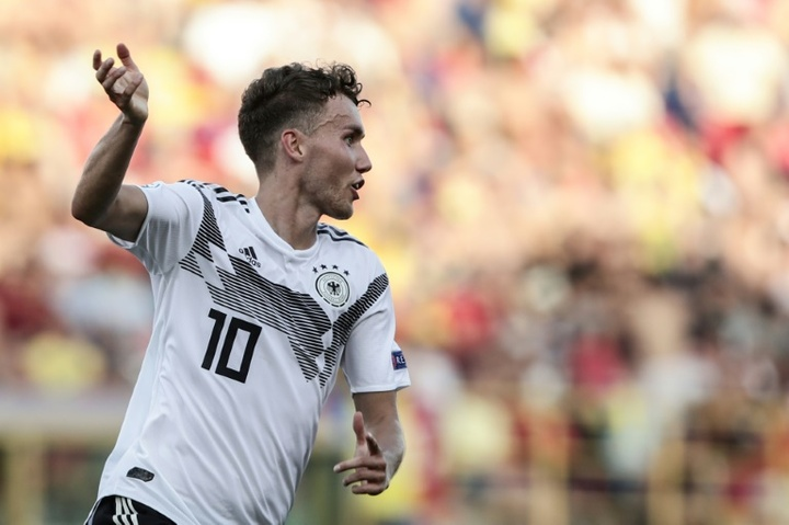 Luca Waldschmidt va rejoindre Wolfsburg. afp
