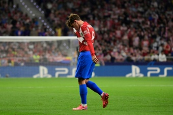 Griezmann felt guilty for Atletico's defeat against Liverpool. AFP