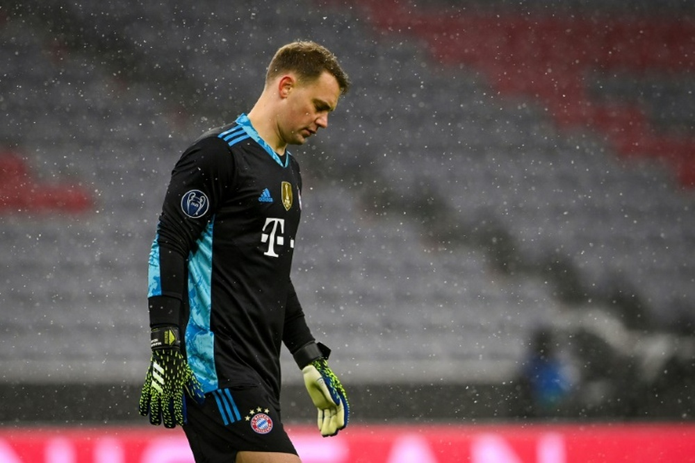 Neuer will miss the Romania game. AFP