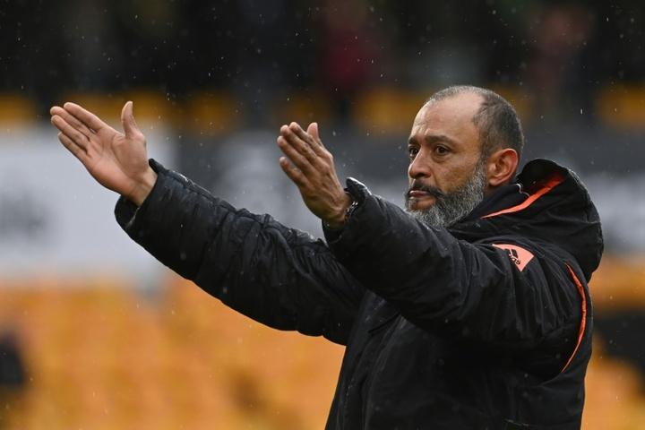 Palhinha, el nuevo capricho de Nuno para su Tottenham. AFP