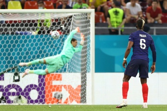 La UEFA desveló los diez tantos candidatos a mejor gol del curso 2020-21. AFP