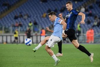 La Lazio saca de quicio al Inter. AFP