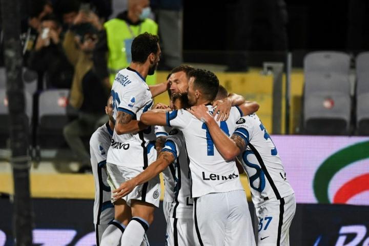 L'Inter renverse une belle Fiorentina et reprend la tête. AFP