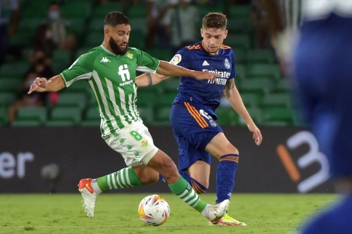 Fekir habló de su posible fichaje por el Liverpool cuando estaba en el Lyon. AFP
