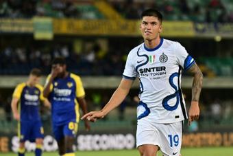 Le formazioni ufficiali di Sassuolo-Inter. AFP