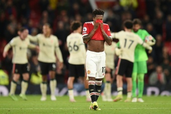 It is not the first time Man Utd have suffered an embarrassing defeat. AFP
