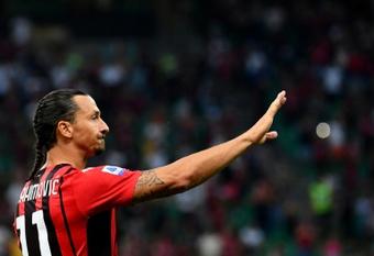 El regreso de Ibrahimovic se aplaza. AFP