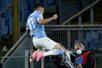 Selon le directeur sportif de la Lazio, Joaquin Correa veut partir. afp