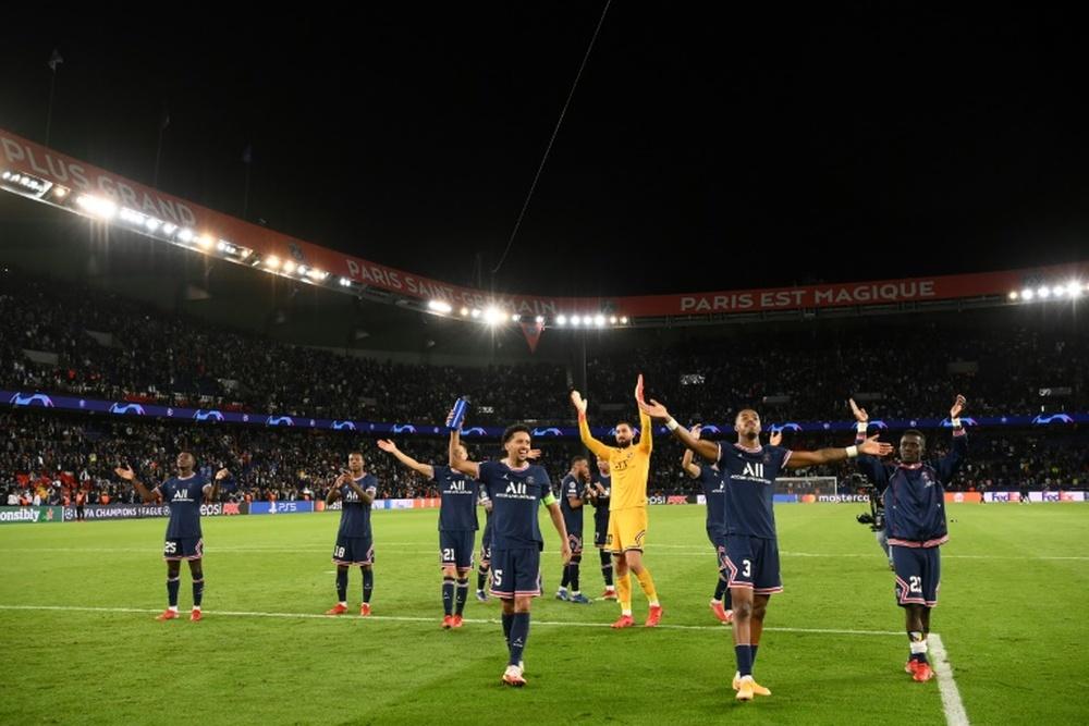 La Ligue 1 va passer à 18 équipes à partir de 2023/2024. AFP