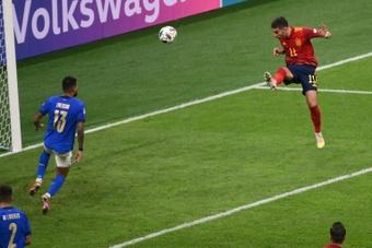 San Siro, un talismán para el fútbol español. AFP