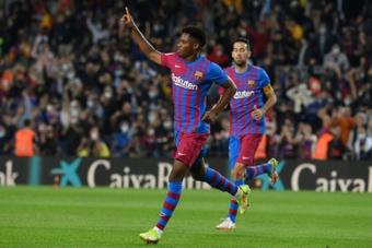 Le Barça retrouve le sourire contre Valence. AFP