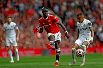Pogba close to signing a new deal with United. AFP