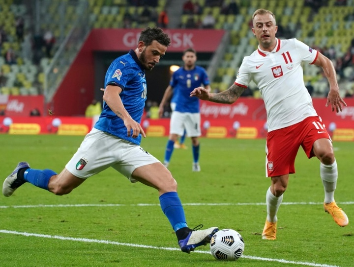 Florenzi pourra jouer contre la Belgique. AFP