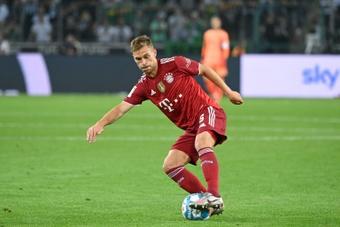 Le milieu de terrain du Bayern Joshua Kimmich. AFP