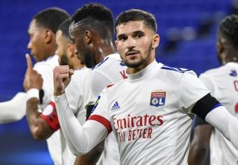 O Lyon vence em casa frente ao Mónaco por 2-0. AFP