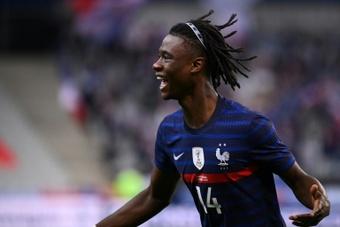 L'équipe de France Espoirs libère Camavinga. AFP