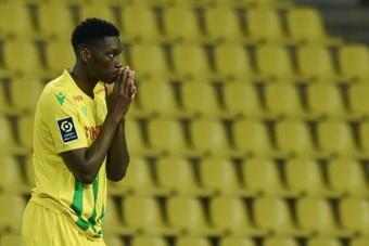 Kolo Muani va rester au FC Nantes. AFP