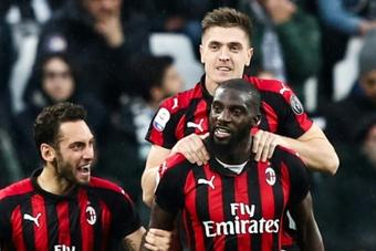 Officiel : Tiemoué Bakayoko fait son retour au Milan. AFP
