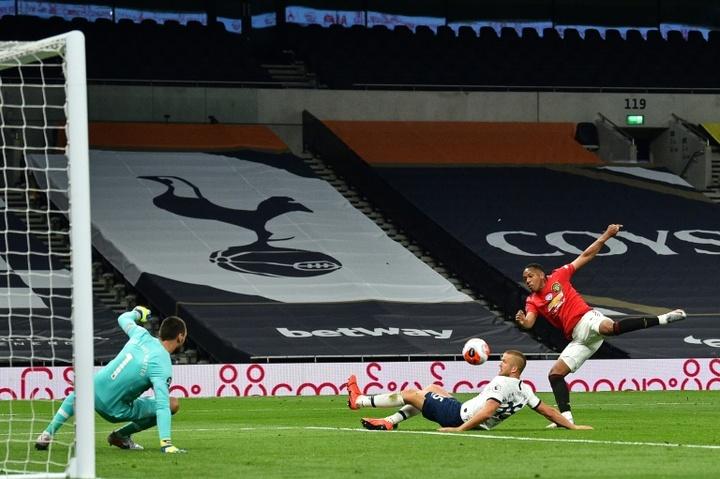 Anthony Martial, en el punto de mira del Tottenham. AFP