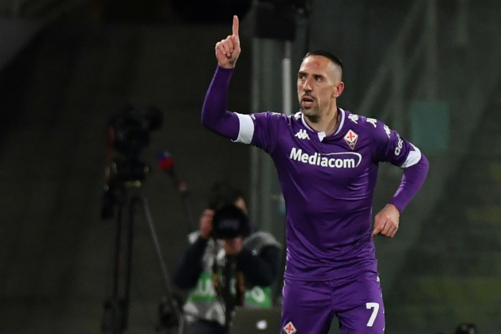 Ribéry tem tudo fechado com a Salernitana.AFP