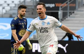 Le formazioni ufficiali di Lazio-Olympique Marsiglia. AFP