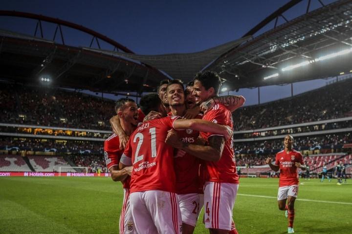 El conformismo del Benfica, el rodillo del Malmö y la épica del Young Boys. AFP